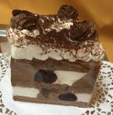 Čoko-višňová torta, bezgluténová, bezlaktózová, dia